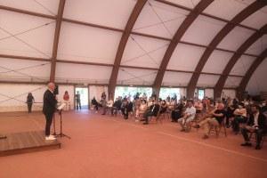 Campo sportivo Taverna, Bonaccini - 4 luglio 2020