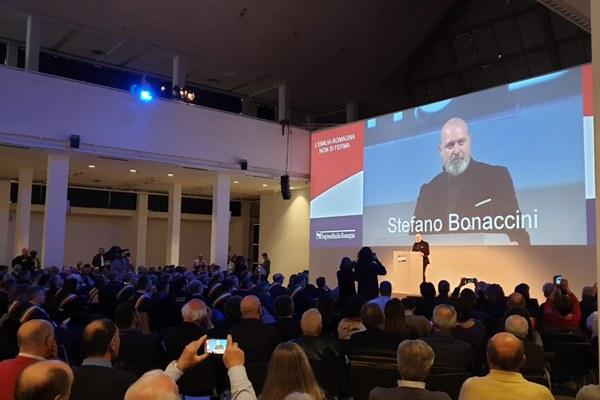 Manifestazione infrastrutture, presidente Stefano Bonaccini Palacongressi 9 marzo 2019 -3