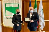 Bonaccini premia canoista Bertoncelli 1