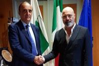Bonaccini incontra Colonna