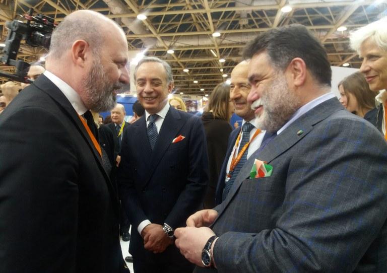 Presidente Bonaccini alla Mitt di Mosca (13 marzo 2018)