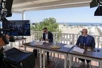 Bonaccini e Corsini conf stampa campagna comunicazione Alto Adriatico.jpg