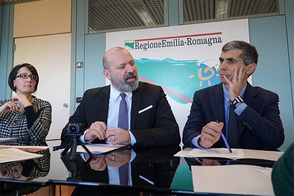 Bonaccini e Petitti bilancio 2017