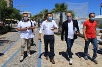 Bonaccini con sindaco Piccioni a Misano Adriatico per rilancio turistico (20 giugno)