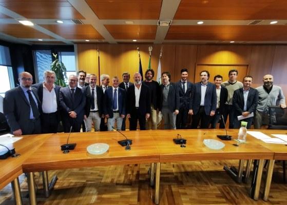Bonaccini e sindaci per progetti piste ciclabili