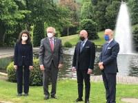 Presidente Bonaccini in Lussemburgo - 3 (giugno 2021)