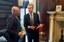 Bonaccini incontra il console Genuardi (missione Usa 14/2/2017)