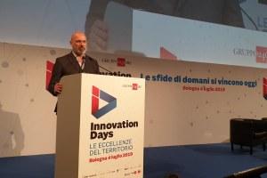 Bonaccini agli Innovation Days di Bologna 4 luglio 2019