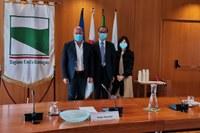Bonaccini incontra ambasciatore Giappone 30 settembre 2020