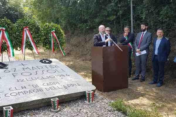 commemorazione fossoli bonaccini