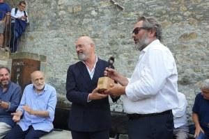 """Bonaccini riceve il riconoscimento """"Amico della montagna"""" a Cerignale (Pc) agosto '19 - 2"""