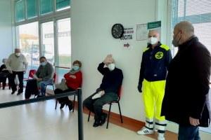 Bonaccini visita Hub vaccini San Pietro in Casale 16 marzo 2021 - 3