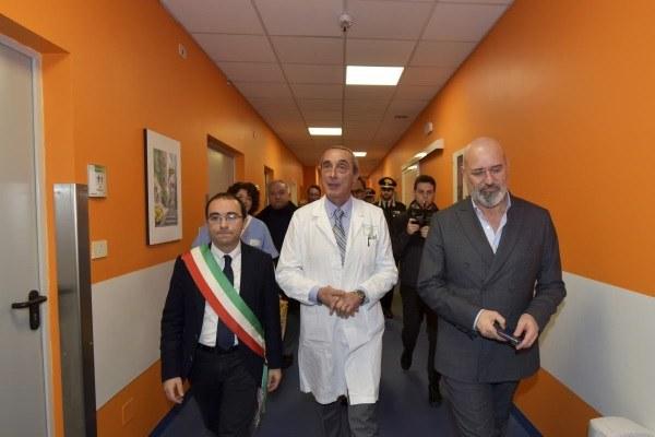 Inaugurazione Punto primo Intervento Ospedale Borgotaro con Bonaccini 21/11/2019 - 1