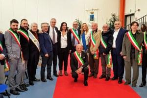 Inaugurazione municipio Caldarola con Gazzolo, 30/11/2019 - 2