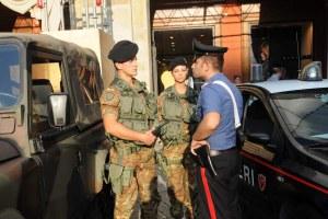 forze dell'ordine carabinieri
