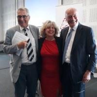 Assessore Caselli con presidente Nouvelle Aquitaine ed eurodeputato Denanot