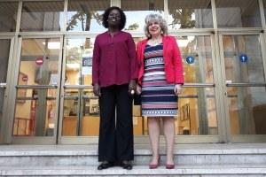 Caselli con vice ministro Mozambico