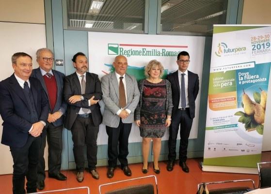 Caselli a conferenza stampa Futurpera 2019