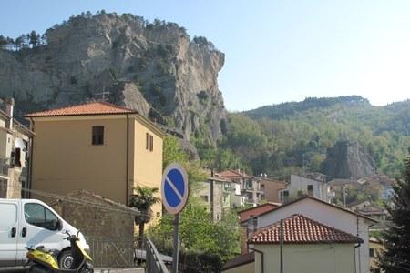Centro abitato montagna