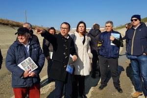 Sopralluogo Gazzolo al Cer Canale emiliano romagnolo febbraio 2019