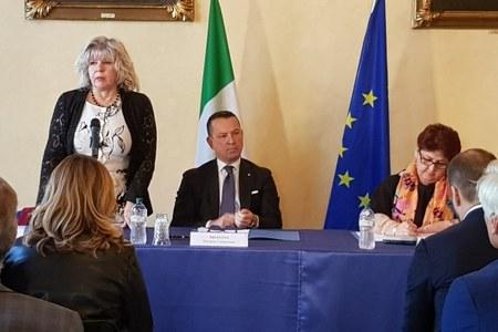 Cimice asiatica, incontro a Ferrara assessore Caselli - ministro Bellanova, 21  ottobre 2019