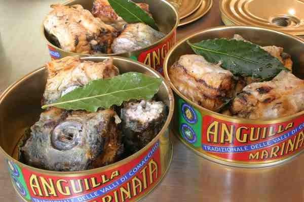 Conferenza Slow Food  Anguilla Marinata Comacchio