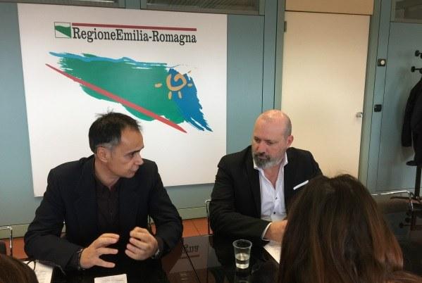 Conferenza stampa dati turismo (28-11-2017), Corsini e Bonaccini -2-
