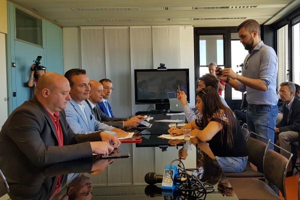 Banda ultralarga, conferenza stampa (30-7-19), Donini