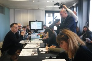 Cine-turismo, conferenza stampa Corsini e Mezzetti