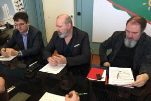 Conferenza stampa bilancio 2018 Fondazione vittime reati Bonaccini Lucarelli