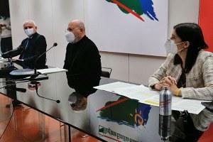 Conferenza stampa Patto per il lavoro e il clima - 15/12/2020