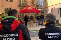 Bonaccini consegna strutture soccorso alpino Montecreto Modena febbraio 2019 - 2