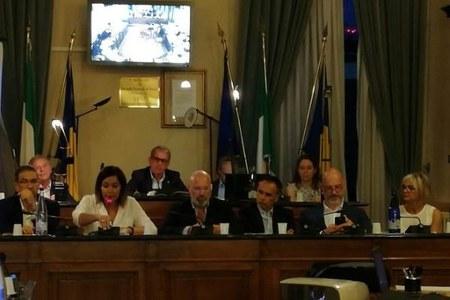 Consiglio comunale Cervia, maltempo 10 luglio 2019, Bonaccini, Corsini, Gazzolo