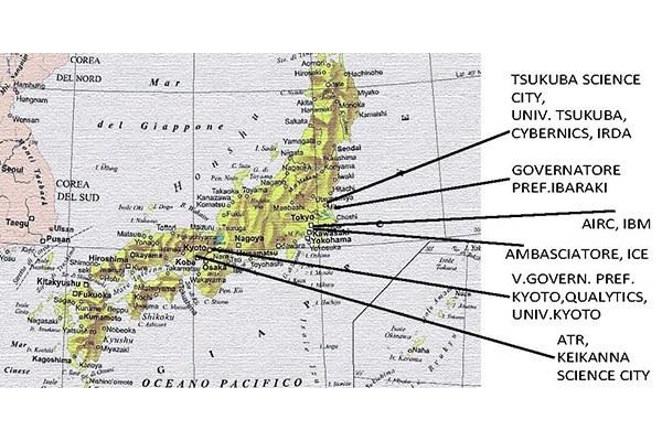 Giappone, missione assessore Bianchi
