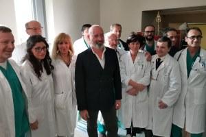 Inaugurazione nuova ala Ospedale Vaio - Fidenza 5/12/2019 con Bonaccini