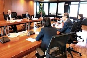 Bonaccini incontra ambasciatore Giappone Oe 30 settembre