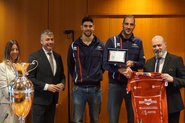 Piacenza volley premiazione