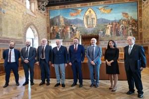 visita ufficiale presidente Bonaccini
