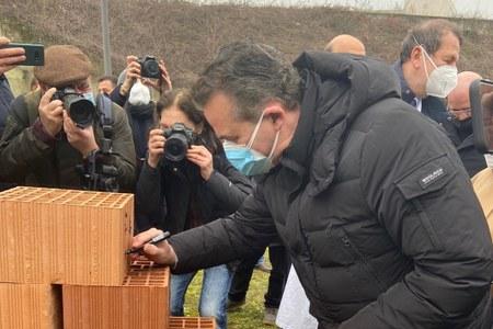 Parma, Donini a posa prima pietra oncologia 19-02-21