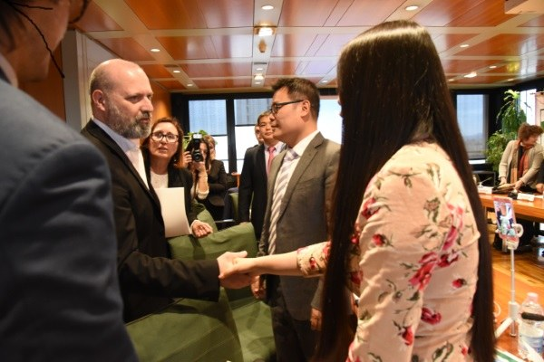 Incontro delegaizone Hema-Alibaba, Bonaccini, 15/03/2018