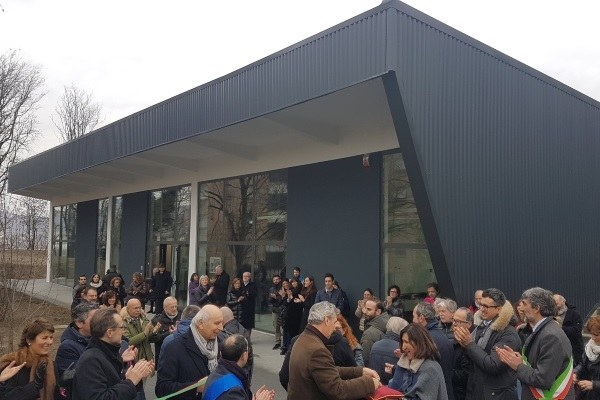 Inaugurazione Fab Lab Istituto Gadda a Fornovo di Taro, gennaio 2019