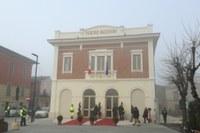 Inaugurazione Teatro Facchini Medolla (Mo) Bonaccini dicembre 2018