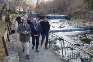 Appennino modenese: Bonaccini a Fiumalbo, febbraio 2020