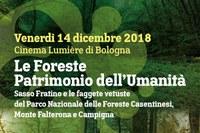 Foreste patrimonio dell'Unesco, 14 dicembre a Bologna