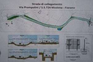Avvio cantiere Via Prampolini Formigine - 2 - 10/11/19