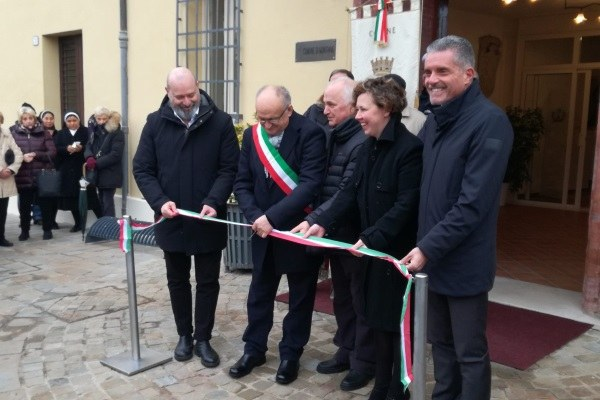 Inaugurazione Palazzo comunale Montiano con Bonaccini