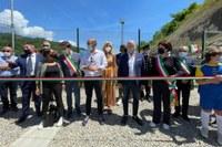 Inaugurazione campo sportivo Ferriere (PC) con Bonaccini