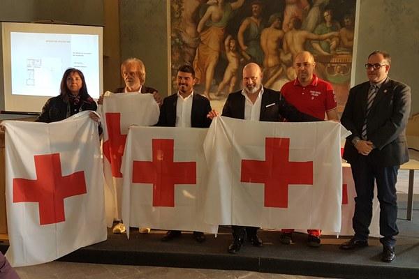 Nuova sede Croce Rossa Italiana a Scandiano (maggio 2018) Bonaccini