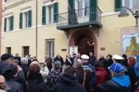 Inaugurazione Palazzo comunale Montiano con Bonaccini 2