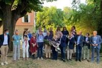 10° compleanno CuraRE onlus, Albinea (RE), 26 giugno 2021 con Bonaccini